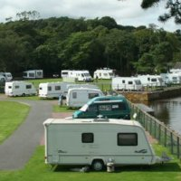 Garlieston Caravan and Motorhome Club Site