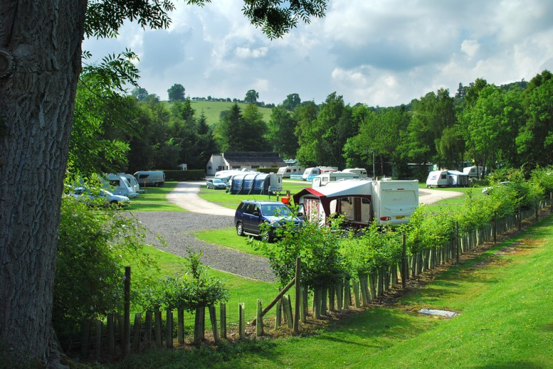 Waterfoot Park In Cumbria T T Campsite And Caravan Park Directory
