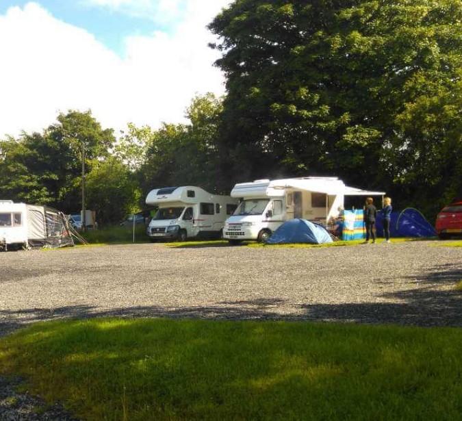 Loughcrew Campsite in Co  Meath - T&T Campsite and Caravan Park