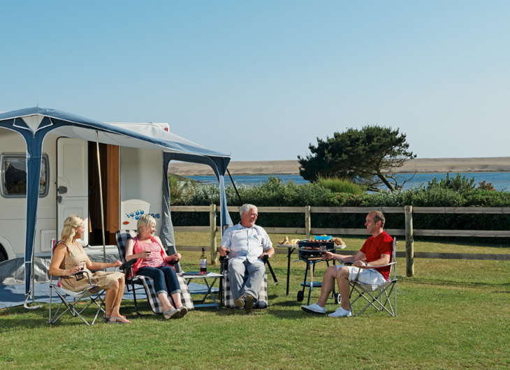 Littlesea holiday park is a campsite and caravan park in - Weymouth campsites with swimming pool ...