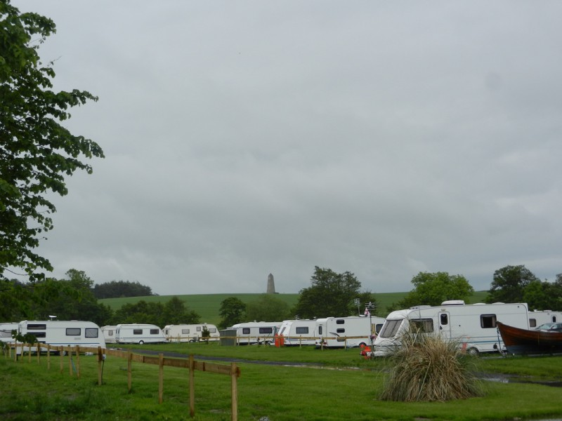 Budle Bay Caravan and Camping Site in Northumberland - T&T