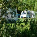 The Limes Campsite Great Steeping nr.Spilsby in Lincolnshire