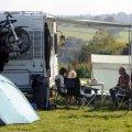 Wimbleball Lake campsite