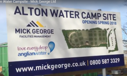 Alton Water Campsite