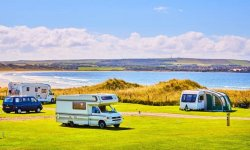 Dunnet Bay Caravan Club Site