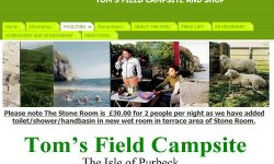 Toms Field Campsite and shop