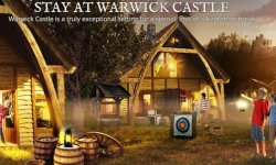 Glamping at the Castle