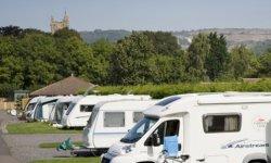 Cheddar Caravan Club Site