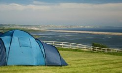 Sea Barn Farm tent campsite
