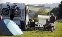 Wimbleball Lake campsite