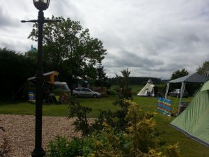 The Three Horseshoes, Campsite and Venue