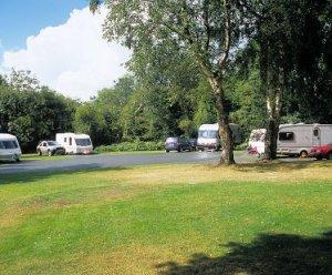 Bromyard Downs Caravan Club Site