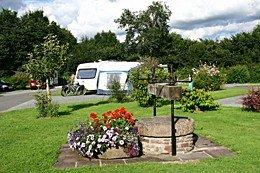 Pencelli Castle Farm caravan & camping