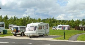 Poolsbrook Country Park Caravan Club Site