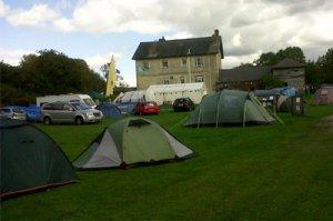 The Barge Inn Campsite @ Honeystreet