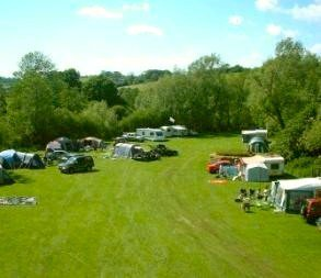 Stowford Manor Farm campsite in Wiltshire