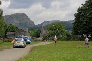 Coniston Hall Camping Site