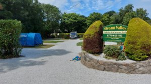 Steam Valley Holiday Park on the coast of Penzance
