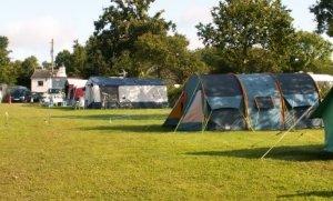 Roadford Lake campsite