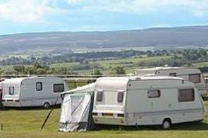 Hexham Racecourse Caravan Site