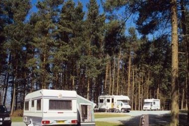 Carsington Water Caravan Club Site