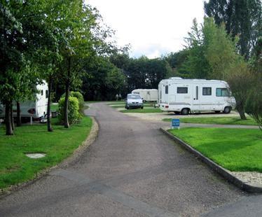 Moreton-in-marsh Caravan Club Site