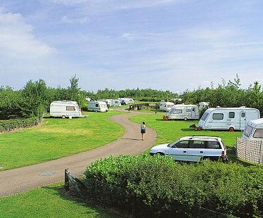 White Water Park Caravan Club Site