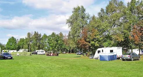 The Globe Inn caravan and camping pub site