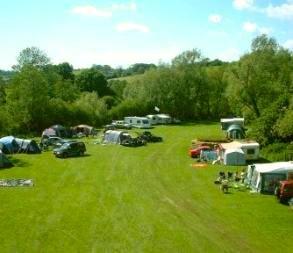 Stowford Manor Farm campsite in Wiltshire