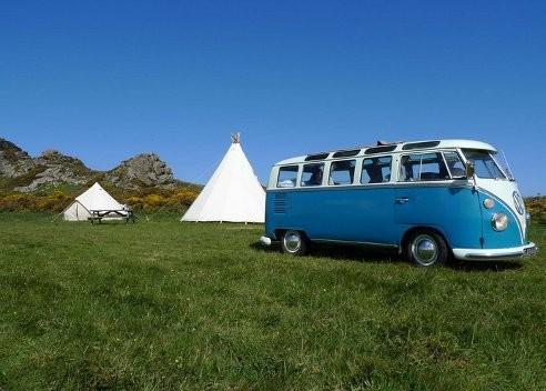 Hillfort Tipis and Camping