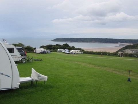 Nicholaston Farm Campsite