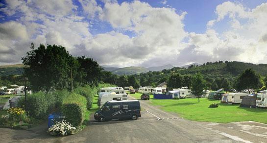 Brecon Beacons Caravan Club Site