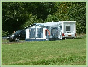 Cwmcuttan caravan site