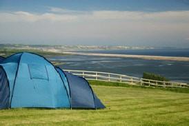 Sea Barn Farm tent campsite