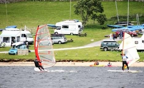 Siblyback Lake campsite